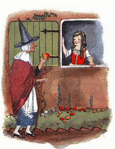 Snow White by Watty Piper [©1922]