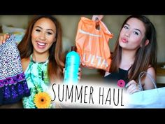 HUGE Summer Collective Haul! ft. MakeupbyMandy24! and Mylifeaseva!