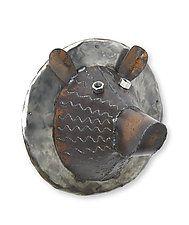 "Bear Head by Ben Gatski and Kate Gatski (Metal Wall Sculpture) (17"" x 16"")"