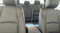 Mazda 3. Mod 2015. Cojineria negra costuras rojas! Mazda 3, Car Seats, Vehicles, Car, Vehicle, Tools