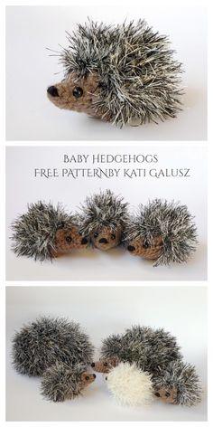 Crochet Hedgehog Punk Plush Toy Amigurumi Free Patterns Easy Beginner Crochet Patterns, Crochet Stitches Free, Crotchet Patterns, Crochet Animal Patterns, Stuffed Animal Patterns, Crochet Patterns Amigurumi, Crochet Animals, Crochet Hedgehog, Crochet Bunny
