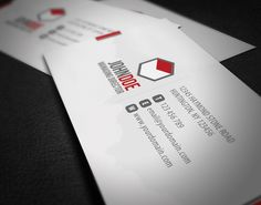 Corporate Business Card by ~glenngoh on deviantART  http://www.techirsh.com