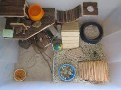 Samla-lådor som bur - 19 --- Burar och tillbehör - Hamster iFokus.
