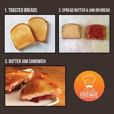 DIY : Butter Jam Sandwich