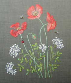 """Gallery.ru / Photo # 11 - Macy's """"Herb Embroidery on Linen"""" Completed! - Sh-irina"""