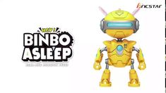 BINBO can make various cool modeling Lying on floor, by touching, sound inducted or blow to its ear, BINBO can make sound and do adorable actions Vo. Intelligent Robot, Touch