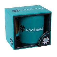 Hashtag Whatamug - Ginger Fox Ltd