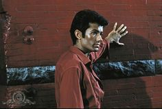 "George Chakiris as Bernardo ""Nardo"" in West Side Story"