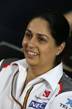 "2014 Malaysian Grand Prix. Monisha Kaltenborn, Sauber F1 Team Team Principal and CEO. Latest news on www.sauberf1team.com, latest videos on www.youtube.com/sauberf1team, ""live feed"" from the track on www.twitter.com/officialsf1team. Motorsport. Formula 1. Formula One."