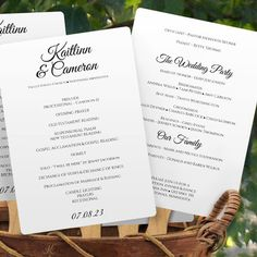 free wedding template program fan