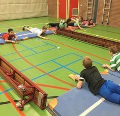 Airhockey (Van juf Anouk)