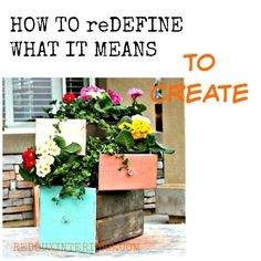 How to redefine what it means to create.  My journey from blogger to successful Dumpster Diver to CeCe Caldwell's Paint Distributor.  How to define what it is to create in any area of your life.  REDOUXINTERIORS.COM FACEBOOK: REDOUX #cececaldwellspaints #ouiredoux #dumpsterdiving