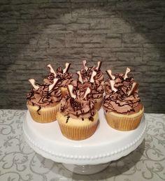 Kinderschokolade - Muffins, ein beliebtes Rezept mit Bild aus der Kategorie Kuchen. 402 Bewertungen: Ø 4,5. Tags: Backen, Kinder, Kuchen, Party