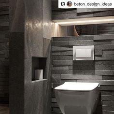 @beton_design_ideas  Muuten kiva mutta WC-istuimen lähellä kannattaa suosia helposti siivottavia materiaaleja  #seinäwc  #vessa  #betonilaatta Toilet, Bathroom, Design, Washroom, Litter Box, Bathrooms, Flush Toilet, Powder Room