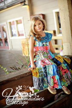 NEW Little Gypsy Queen PDF pattern sizes 2T by HandmaidensCottage, $10.00