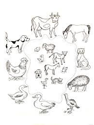 Zvířata a jejich mláďata Farm Activities, Animal Activities, Preschool Themes, Preschool Worksheets, Educational Activities, Farm Animal Coloring Pages, Colouring Pages, Farm Unit, Animal Worksheets