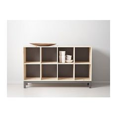 IKEA - NORNÄS, Sideboard basic unit,  , , Untreated solid pine is a durable natural material that can be painted, oiled or stained according to preference.Optimize your storage with BRANÄS or DRÖNA boxes.