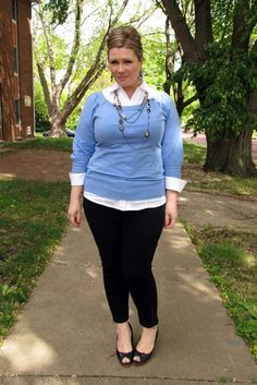 perfect-work-outfits-for-plus-size-women-2 More