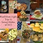 Food Done Light's Top 10 Savory Dishes