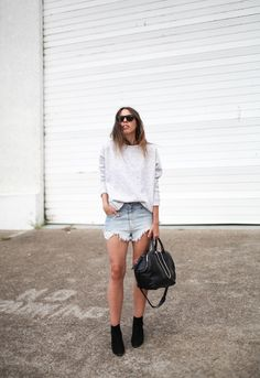 Sweatshirts + Cutoffs. - modern legacy