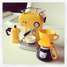 Rilakkuma coffee set #kawaii #rement