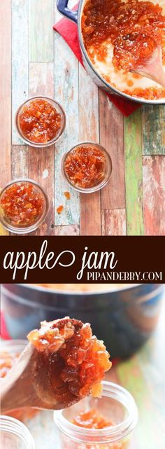 Apple Jam - this stuff is crack on toast. My family LOVES it. I found my 7-year-old eating it out of the fridge with a spoon.