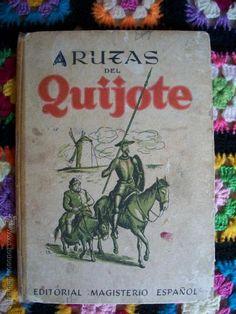 rutas del quijote .ed. magisterio español, años - Comprar Libros de texto en todocoleccion - 42384142