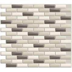 Smart Tiles - Murano Dune Mosaik (peel n stick backsplash)