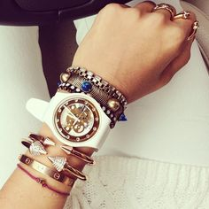 Stack Jewelry Like A Pro With These Inspiring Instagram Pics | StyleCaster