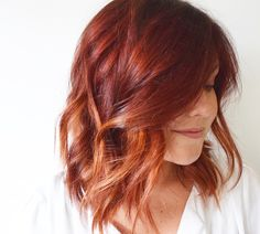 Hair by kimberly_call Red ombré. Hair by kimberly_call Hair Color And Cut, Hair Color Dark, Cool Hair Color, Hair Colors, Red Blonde Hair, Red Ombre Hair, Red Bob Hair, Violet Hair, Burgundy Hair