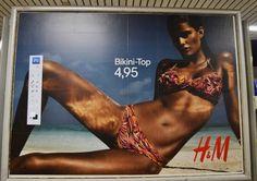 unknown artist put a photoshop toolbar on several h billboards.