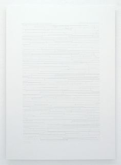 Patricia Reed The uninscribed taxonomy of that which youve been given (2010)   Drawing depicts the name fields on all passport/VISA application forms for each country throughout the world drawn at a 1:1 scale and listed alphabetically.  (via The uninscribed taxonomy of that which youve been given | Patricia Reed)