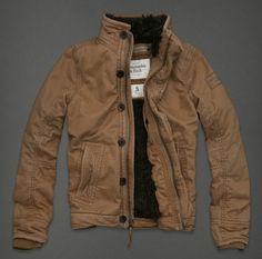 Abercrombie Fitch Men Outerwear The Adirondack Jacket