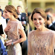 """She is called """"thrifty"""" for """"recycling"""" a $3000 Jenny Packham she wore once in 2012, yet I feel like a spendthrift if I pitch a t-shirt I've worn for two years"""