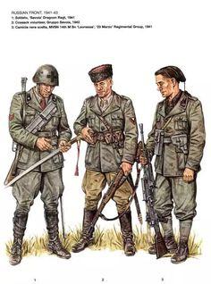 Ejercito Italiano en el frente ruso 1941 - 1943