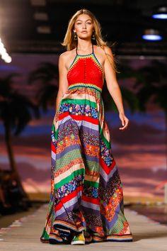 Gigi Hadid -- Tommy Hilfiger S/S 2015