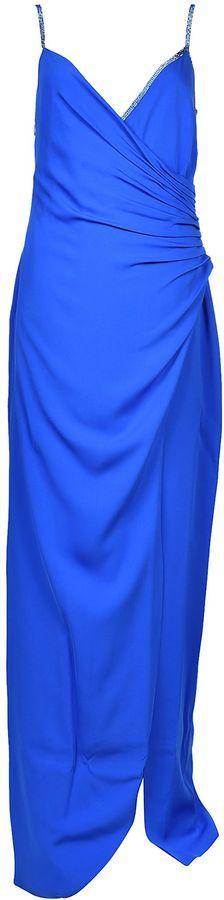 Versace Deep V-neck Dress
