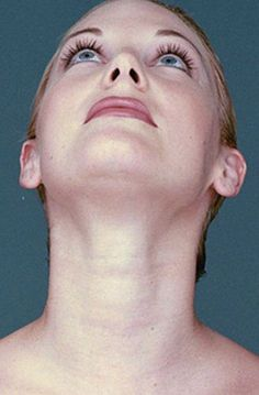 Sexy neck, tailored jawline and chin - use double chin exercises and facial aerobics workouts to sharpen the neck and jaw in the quest to look years younger