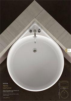 Glass Design, Italy, mini tub dimensions