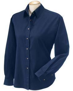 Classic Long Sleeve Twill - Buy Devon & Jones classic titan long sleeve twill at Gotapparel.com