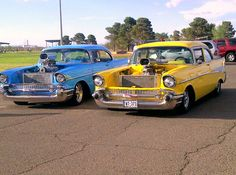 Classic Chevys! I can't decide which one I like better. Do you have a favorite?