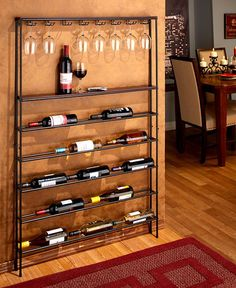 This Wall Mounted Wine & Glass Rack saves space without sacrificing…