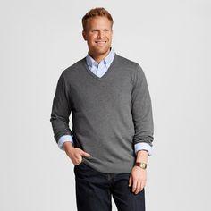 Men's Big & Tall V-Neck Sweater