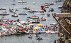 Red Bull Cliff Diving World Series in Texas,  Hell's Gate on Possum Kingdom Lake