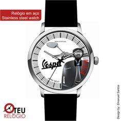Mostrar detalhes para Relógio de pulso OTR VESPA MOTO 009