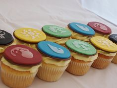 Made these for a neighbour's Magic the Gathering Mad boyfriend. She was just lucky my husband and i are Magic mad too! They are lemon sponge and butter cream, with sugar paste and my own homemade stencils. 11th Birthday, Birthday Parties, Homemade Stencils, Cake Eater, Lemon Sponge, Magic Crafts, Cupcake Cakes, Cupcakes, Magic Party