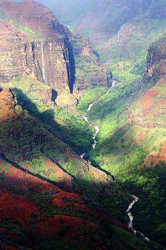 Waimea #Canyon, Kauai, #Hawaii