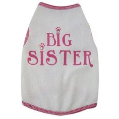 002889 Tank, Big Sister, White, XXS