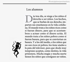(Galeano para los pobres)