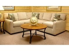sofa around storage furniture couch do sectional a wrap white suede leather for how small you